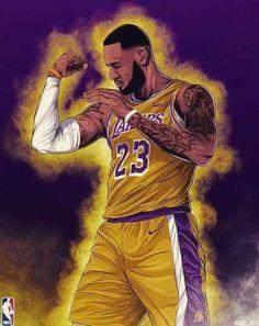 Super ideas for basket ball art lebron Lebron James Lakers, King Lebron James, King James, Irving Wallpapers, Nba Wallpapers, Basketball Art, Basketball Players, Basketball Shirts, Nba Basketball
