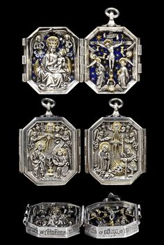 Diptych pendant, made in Germany, c.1450-80