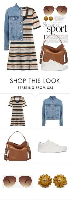 """Denim Jackets 4621"" by boxthoughts ❤ liked on Polyvore featuring M Missoni, Topshop, Vans and Ashley Stewart"