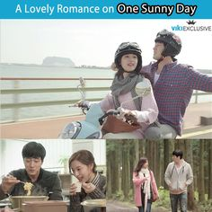 So Ji Sub & Kim Ji Won can't resist each other's charm in 'One Sunny Day.' Watch their romance unfold on Jeju Island.