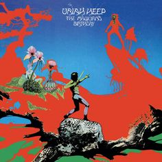 Uriah Heep - The Magician's Birthday on colored LP