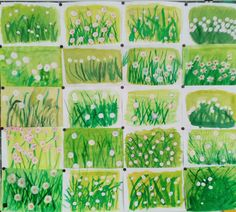 Items similar to Dandelions - an original watercolor x Spring Art Projects, Spring Crafts For Kids, Art For Kids, Kindergarten Art Projects, Easter Art, Art Lessons Elementary, Art Classroom, Art Plastique, Art Activities