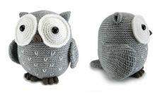 Owl crochet pattern by Megan Barclay on LoveCrochet Diy Crochet Animals, Crochet Owls, Crochet For Kids, Knit Crochet, Crotchet, Owl Crochet Patterns, Crochet Ideas, Owl Crafts, Yarn Projects
