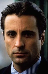Andy Garcia. Maybe it's the Cuban blood, but he is an actor oozing with a molten lava of passion. The fire in his eyes...the hoarseness in his voice when his lid is blown...he's just an explosive actor. A beautiful thing to watch.