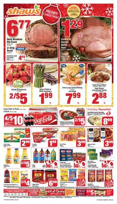 Shaws Circular December 18 - 24, 2015 - http://www.olcatalog.com/grocery/shaws-circular.html
