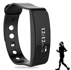 Fitness Tracker, 2017 Updated Waterproof OLED Screen Bluetooth Smart Fitness Tracker Armband | Wristband | Bracelet (Black) -  http://www.wahmmo.com/fitness-tracker-2017-updated-waterproof-oled-screen-bluetooth-smart-fitness-tracker-armband-wristband-bracelet-black/ -  - WAHMMO