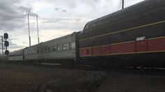 Norfolk and Western 611 Train through Gainesville, Virginia - YouTube