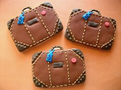 Travel cookies - i dont when id make these but they are cute!