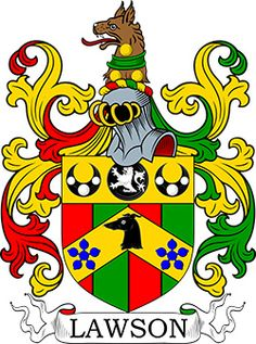 Lawson Coat of Arms