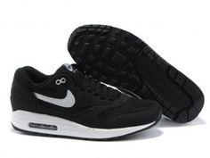 Nike Air Max 1 Men Black/White QASE2902