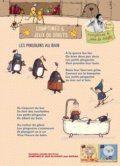 Les pingouins au bain