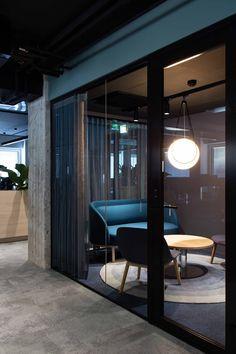 Industrial Office Design, Office Interior Design, Kitchen Interior, Interior Modern, Design Kitchen, Design Ppt, Design Firms, Corporate Interiors, Office Interiors