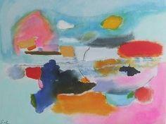 """Saatchi Art Artist Sarah Stokes; Painting, """"little bird singing"""" #art"""