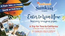 Enter the Sunkissed with Sunkist contest to win a $5,000 getawway trip to Southern California! http://woobox.com/7ypf8p/hz6gwi