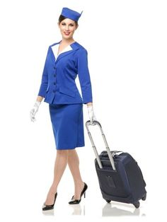 2020 Charades Women's Pan Am Patty Costume Set and more Airline Costumes for Women, Career Costumes for Women, Women's Halloween Costumes for Adult Costumes, Costumes For Women, 1960s Costumes, Halloween Kostüm, Halloween Costumes, Halloween Outfits, Stewardess Costume, Apple Costume, Pan Am