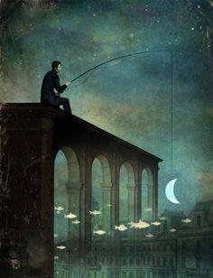Кристиан Склое (Christian Schloe). Картины в технике сюрреализм