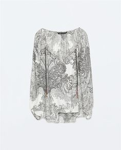 ZARA WOMAN TASSELS PRINT BLOUSE WITH BALLON SLEEVES SHIRT 2070/608 NEW SEASON  http://www.ebay.com/itm/ZARA-WOMAN-TASSELS-PRINT-BLOUSE-WITH-BALLON-SLEEVES-SHIRT-2070-608-NEW-SEASON-/231493393877?pt=LH_DefaultDomain_0&var=&hash=item35e614ddd5