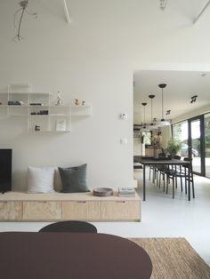 living room ideas – New Ideas Living Room Interior, Home Living Room, Home Interior Design, Living Spaces, A Frame Cabin, Diy Sofa, House Inside, Beautiful Interiors, Furniture Design