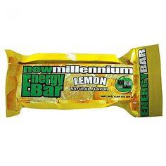 Case of Lemon Millennium Energy Bars (144)