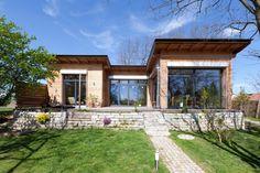 Енергоефективний збірний будинок за індивідуальним проектом 134 м2