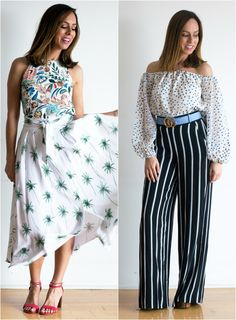 cd5e785990 Sydne Style shows how to mix prints for summer outfit ideas
