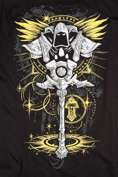 J!NX : World of Warcraft Priest Legendary Class Premium Tee