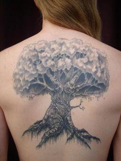 #tree #backtat #tattoo @Holly Westberg