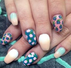 Day 101: Festival Nail Art - - NAILS Magazine