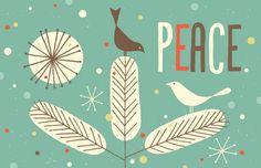 peace by @Tracy Walker loooove #art #cards