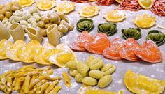 Nadia Mikushova. Fresh Italian pasta Royalty Free Stock Image