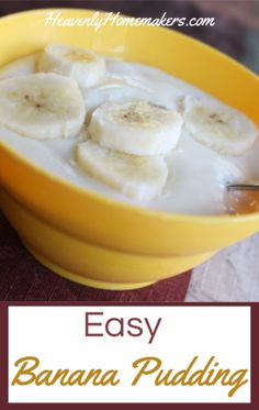 Make this Easy Homemade Banana Pudding recipe and you'll feel like you've gone back in time to the olden days of grandma's wonderful homemade treats! Banana Pudding From Scratch, Old Fashioned Banana Pudding, Homemade Banana Pudding, Banana Pudding Recipes, Meal Worms, Banana And Egg, Chicken Treats, Flavored Popcorn, How To Cook Eggs