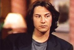young keanu reeves interview