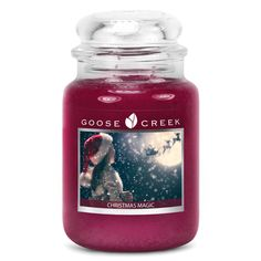 Christmas Magic Goose Creek 24oz Candle Jar