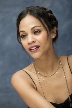 Zoe Saldana 2010-11-04 Death At A Funeral Press Conference Four Seasons Hotel