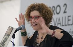 Miércoles, 16 de Octubre 2013. Presentación del libro Tela de Sevoya de Myriam Moscona, en la Feria Internacional del Libro del Zócalo. Foto: Octavio Nava/Secretaria de Cultura