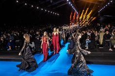 Elie Saab Fall 2016 #PFW Fashion Show @eliesaab   FashionToMax.com