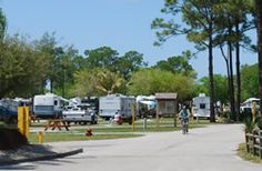 RV Camping at Lion Country Safari KOA.  The campground is nothing special but you are right next door to the park and you can hear the lions roaring.  The park is fabulous!