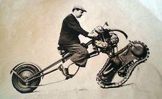 half track half wheel