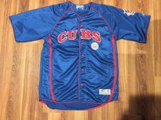 Mens Chicago Cubs Baseball Jersey Shirt -. Size - Large.   eBay!
