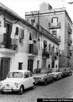 Fernando Poo any 1978 Imatge del carrer Fernando Poo, amb els habitatges típics de la zona antiga del Taulat