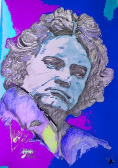 mr marian hergouth, Beethoven 19618 Freemasonry, Digital Art, Van, History, Portrait, Artist, Paper, Canvas, Drawing S