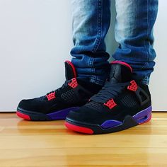 """509cb2885fd Comment Tag a friend who will cop Go check out my Air Jordan 4 Retro Raptors  on feet video. Quick link in bio. . . . . .…"""""""