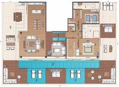 Penthouse180 - Os Apartamentos - Grand Hyatt Residences