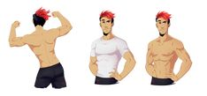Sheet Character - Markiplier The Sass King by FloatingMegane-san on DeviantArt