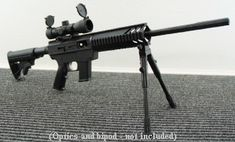 19b55365f0 My Christmas wish list...AR 15 9mm with a scope Sks Magazine,