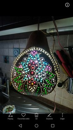 Gourds, Ceiling Lights, Lighting, Home Decor, Pumpkins, Light Fixtures, Ceiling Lamps, Lights, Interior Design