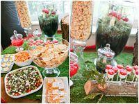 Woodland birthday party