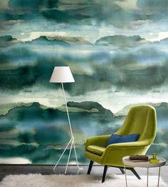 Iron Wallpaper by Casamance   Jane Clayton