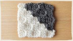 石畳編み・ブロック編みの編み方【かぎ編み】 | 彼に編みたいスヌード・マフラー「彼編み」 cowls for him