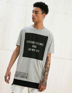 Camisetas - HOMBRE - HOMBRE - Bershka Colombia